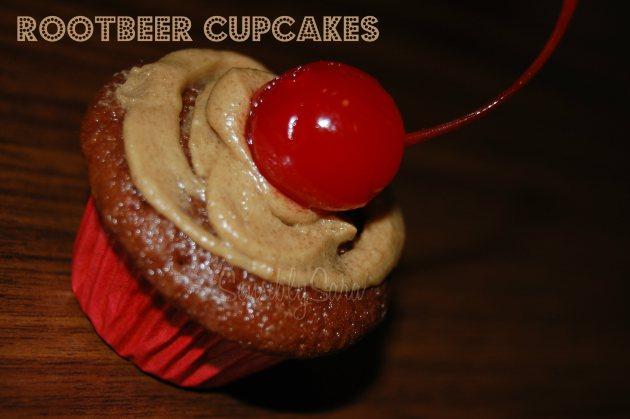 rootbeer cupcake