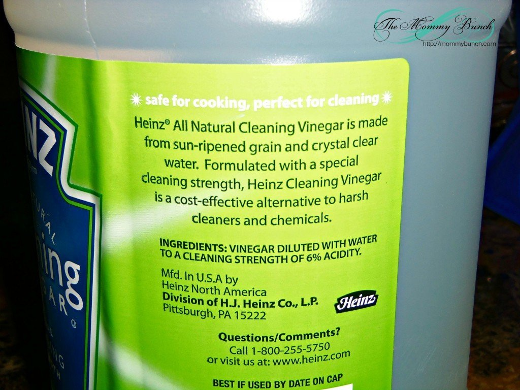 Tips on cleaning with vinegar the mommy bunch - Five easy cleaning tips get some time for yourself ...