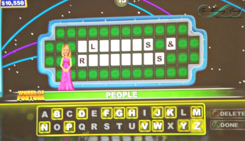 the wheel of fortune games