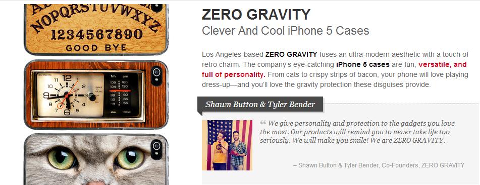 zero gravity iphone cases