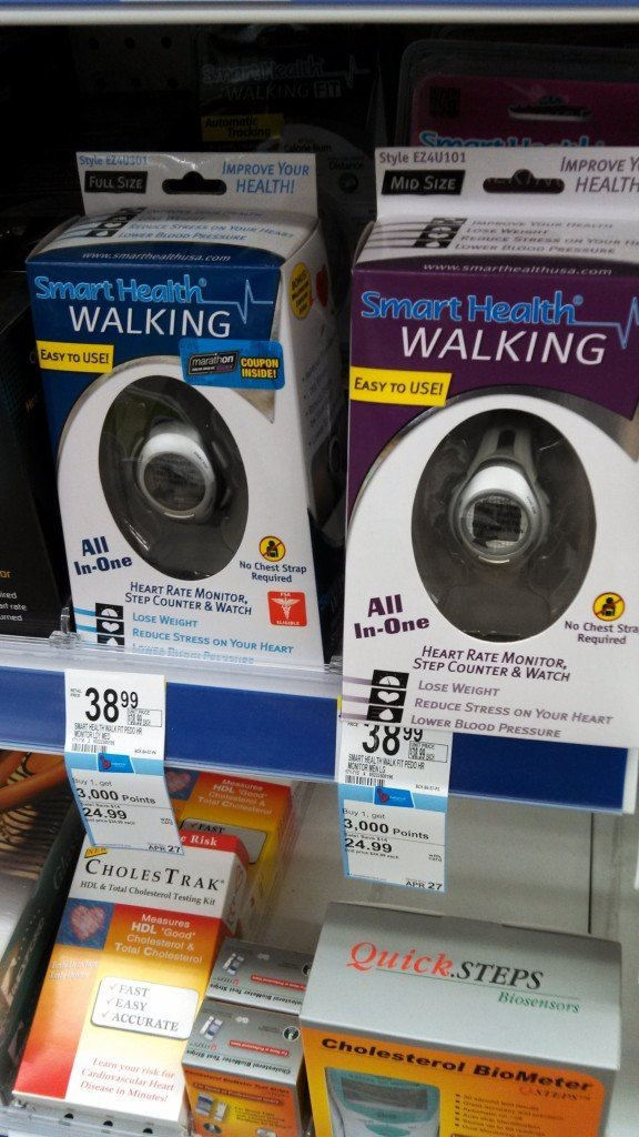 Walgreens step counter
