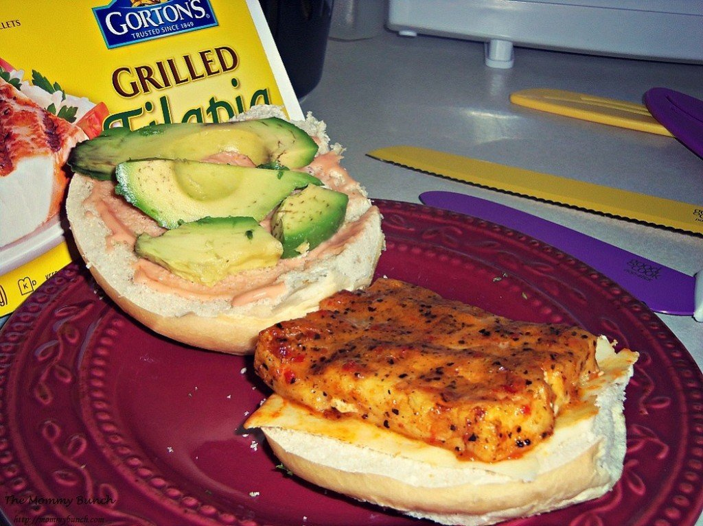 grilled tilapia and avocado