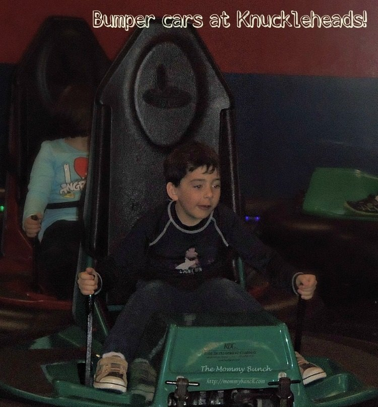 knuckleheads bumper cars