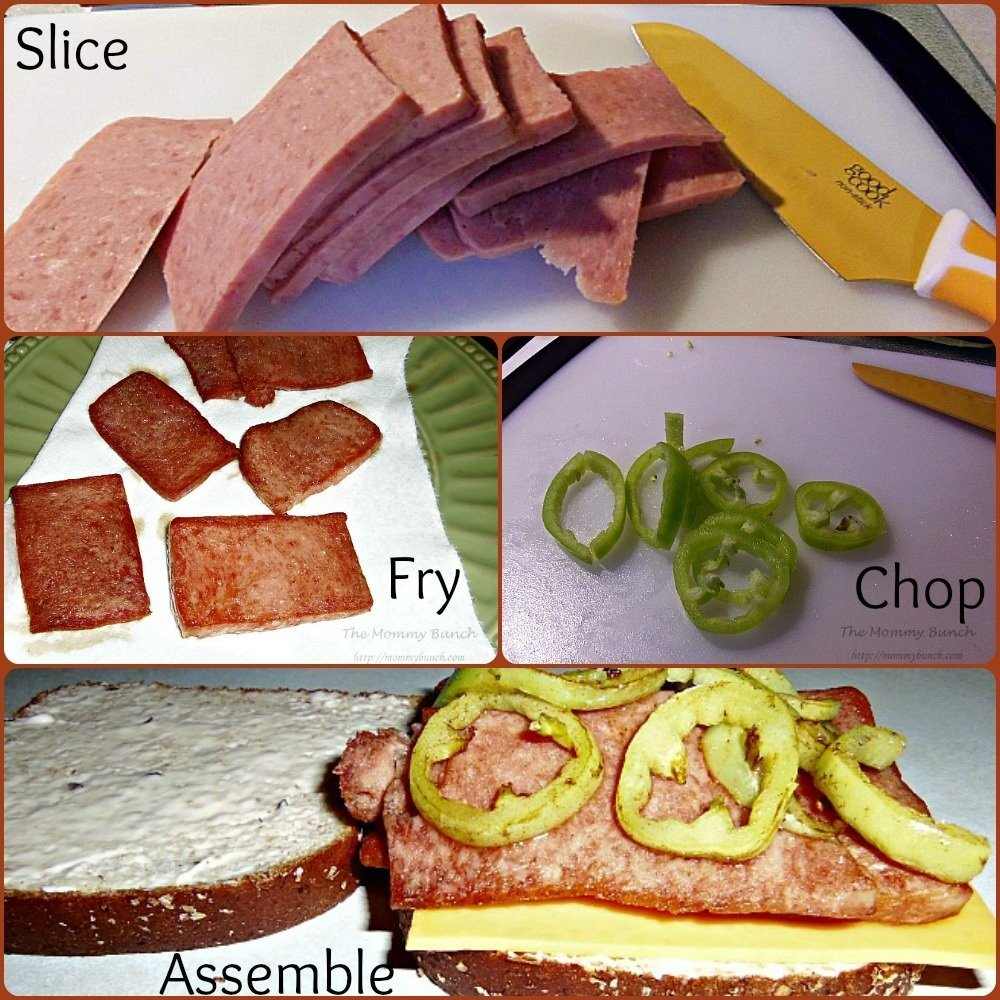 spam assemble sandwich
