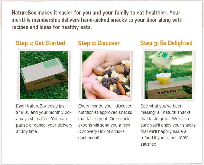 NatureBox how to