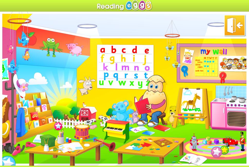 reading eggs classroom