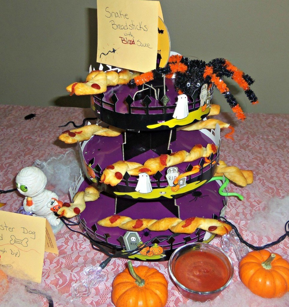 snake breadsticks Halloween Baking #shop
