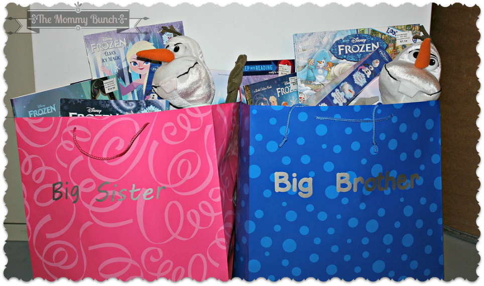 Easy Diy Big Brother And Big Sister Gift Bags The Mommy Bunch