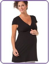 maternity top black