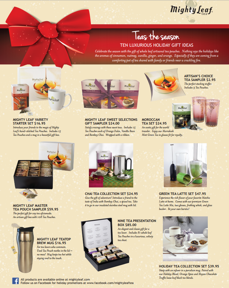 mighty leaf holiday assortment