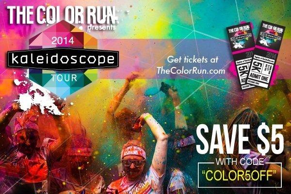 color run discount