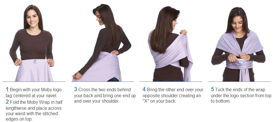moby wrap wrapping