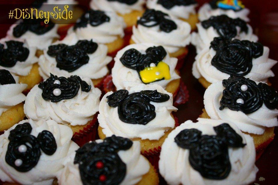 Disney Mickey Cupcakes