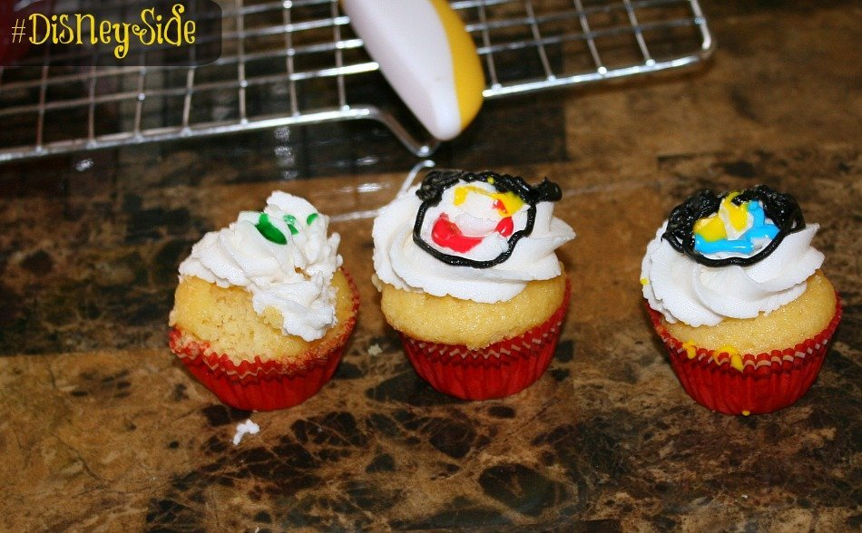 Disney teacher cupcakes