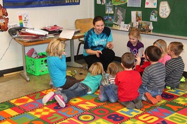 bella's preschool visit
