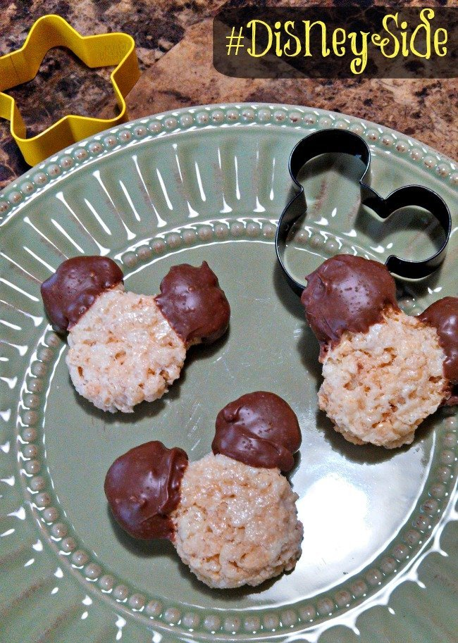 mickey mouse rice krispies