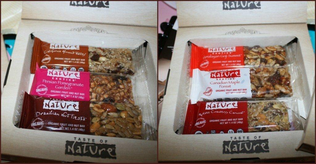 taste of nature organic bars