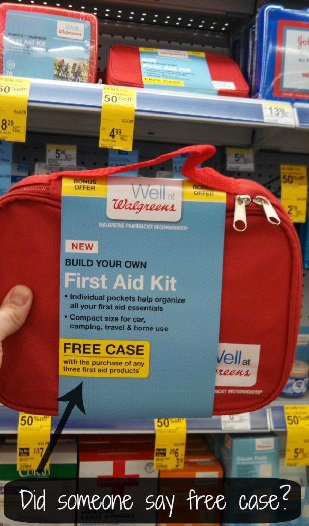 walgreens first aid kit