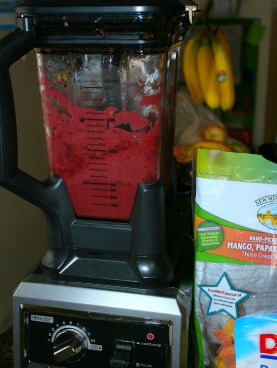 ninja berry smoothie