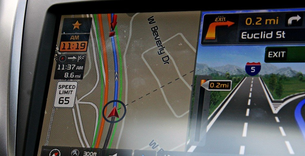 Kia Navigation Speed