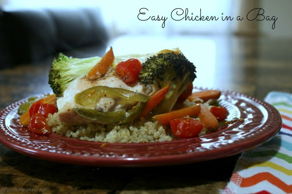chicken in a bag-goodcook-one-pot-dish