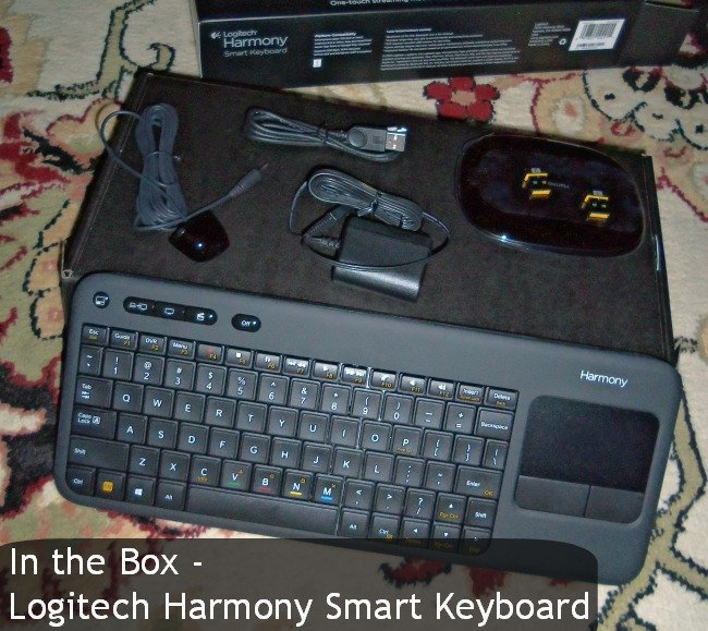logitech harmoney smart keyboard