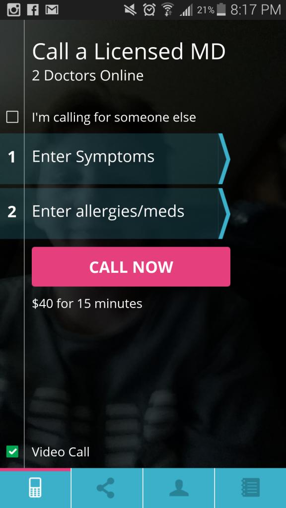 DOD symptoms