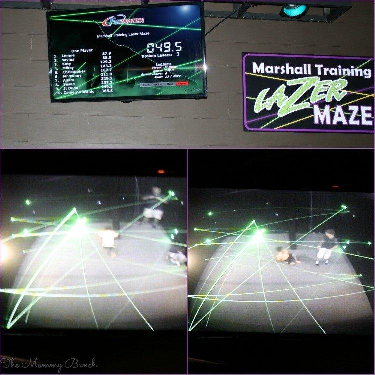 Wilderness laser maze