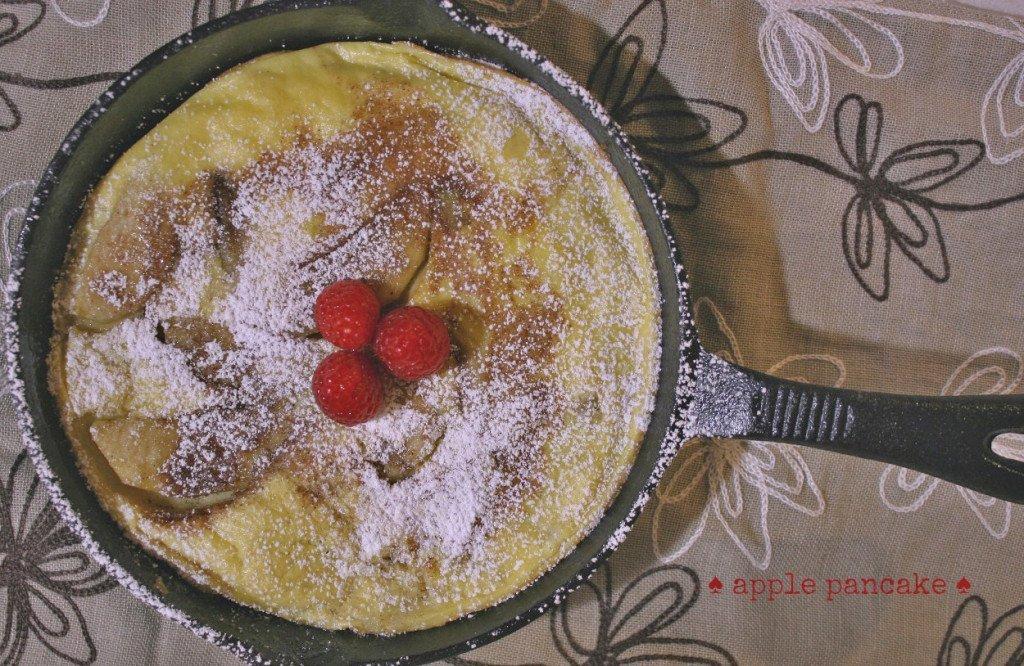 apple pankcake lifeway kefir3