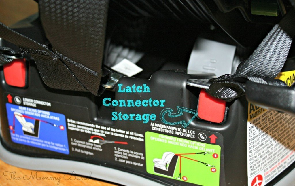 britax latch storage