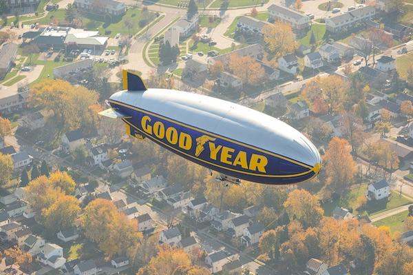 goodyear blimp $100 Visa Gift Card #giveaway donnahup