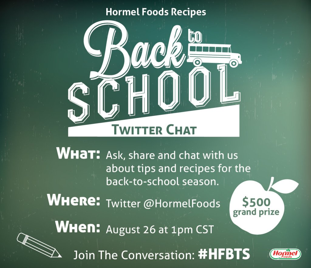 Back to School Twitter Chat