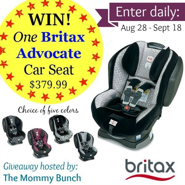 Britax Giveaway Button