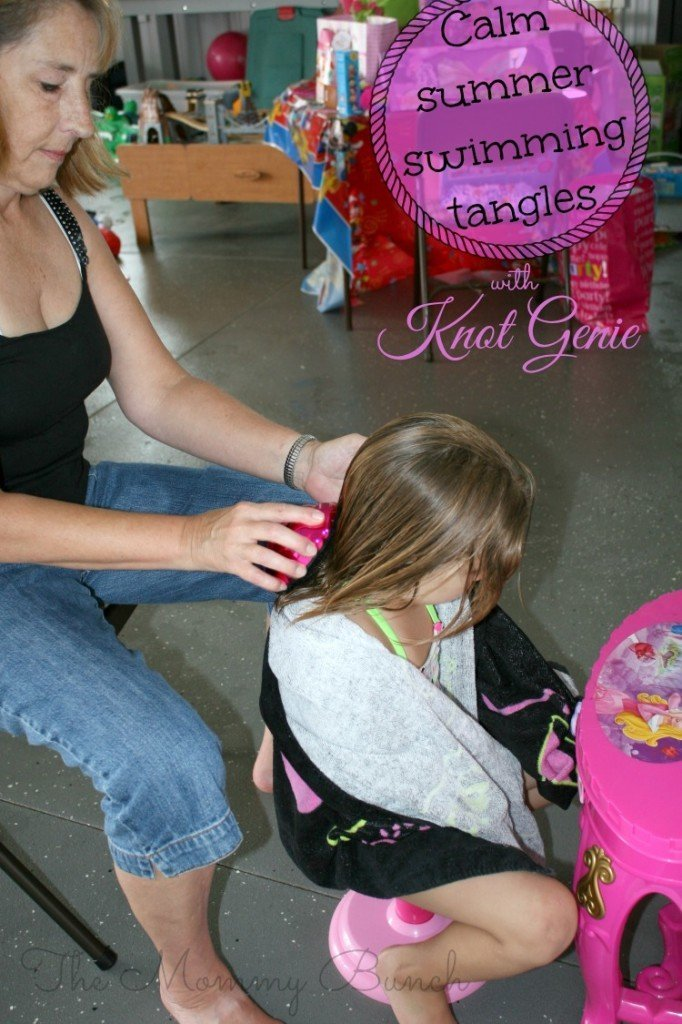 knot genie swimming tangles