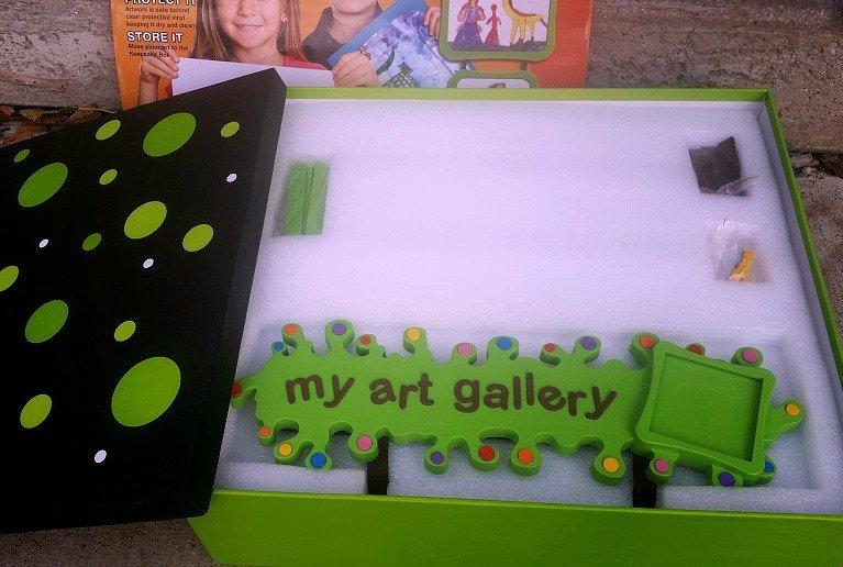 art gallery box