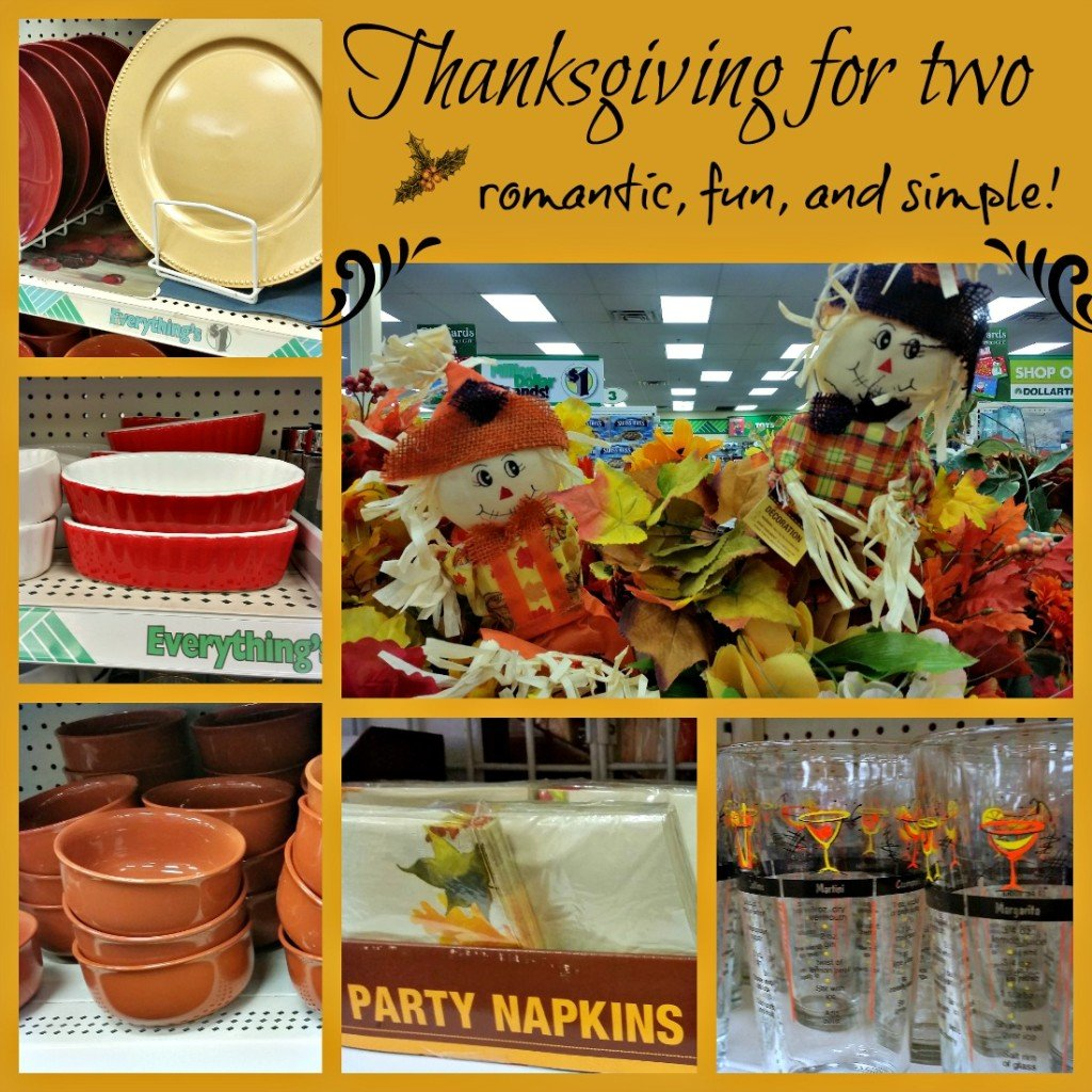 dollar tree thanksgiving