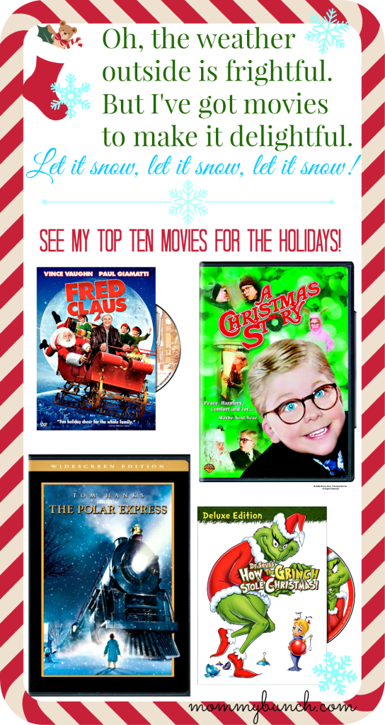 Christmas movies for families and Christmas gifts for movie lovers