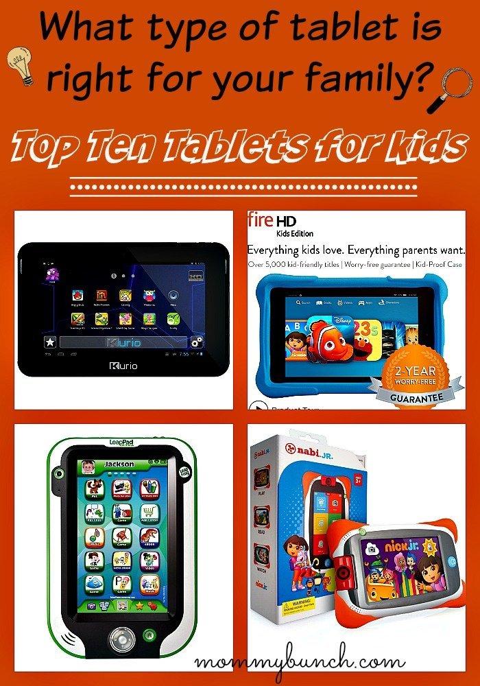 top ten tablets