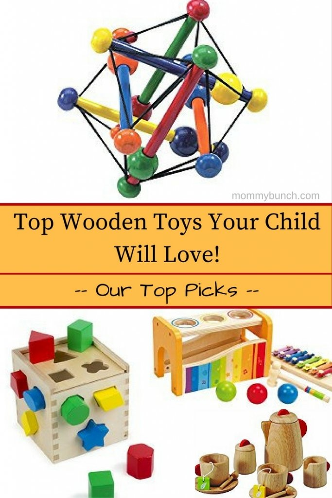 Wooden toys are a great way to give your child an open-ended play experience, encourage imaginative play, and keep your kids away from possible toxins in plastics. These Top Wooden Toys for Kids are safe for chewing, biting, and will keep kids entertained!
