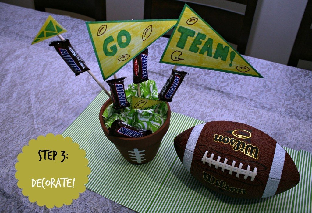 Creative entertaining for the big game mommy bunch
