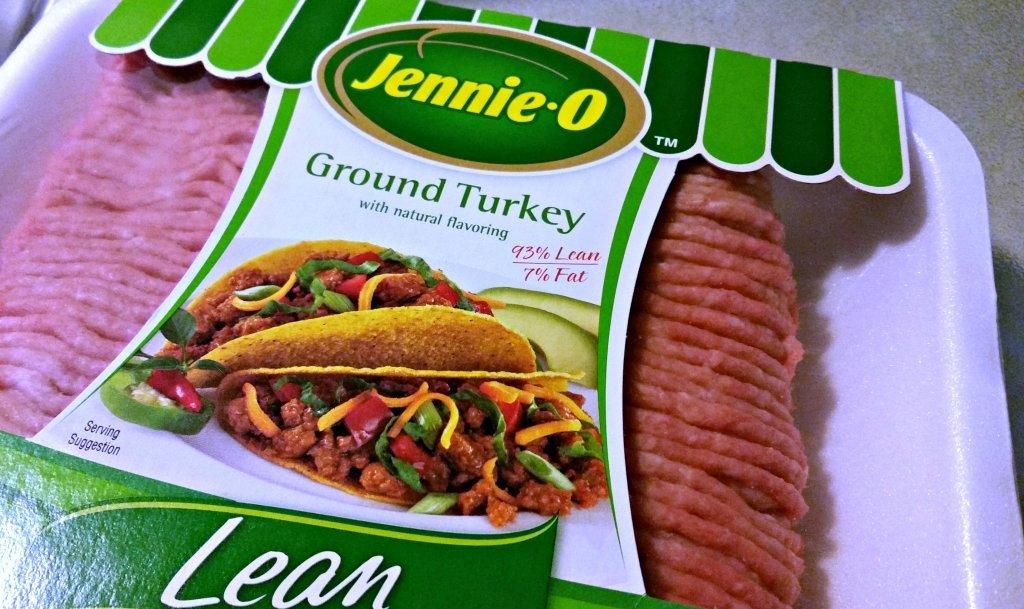 Jennieo ground turkey