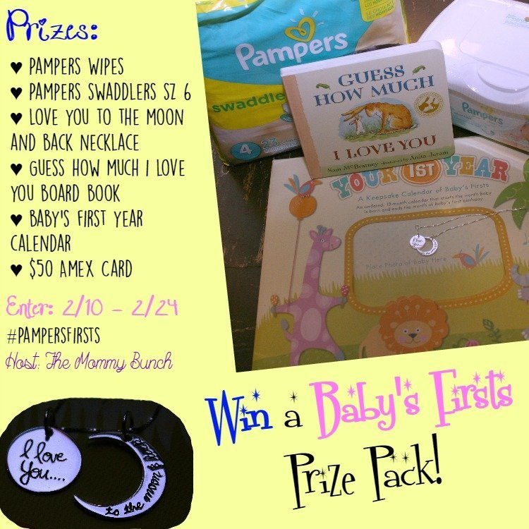 PampersFirsts Giveaway