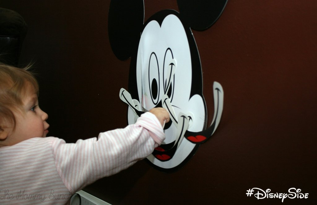 Pin the smile on Mickey - Baby!