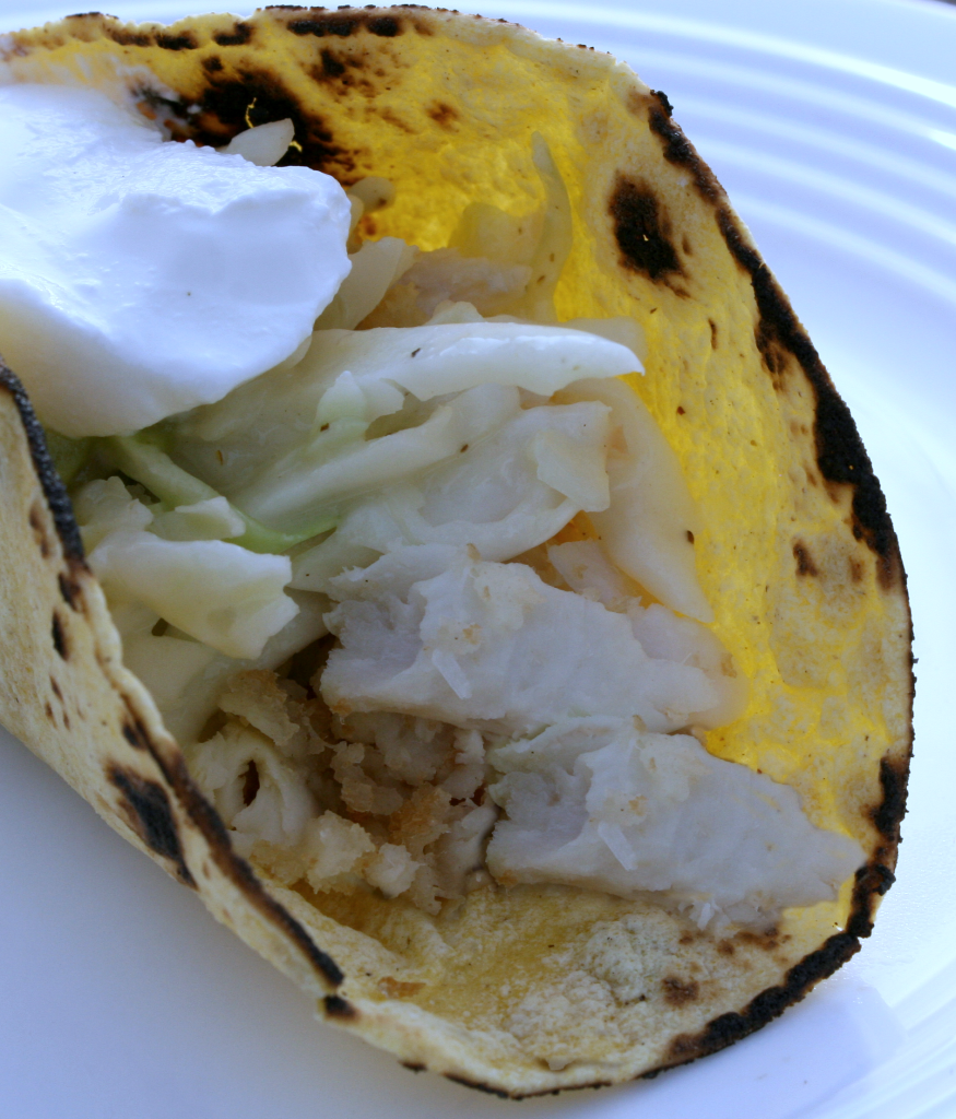 Fave fish taco