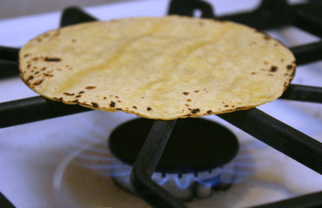 Fish taco tortilla 2