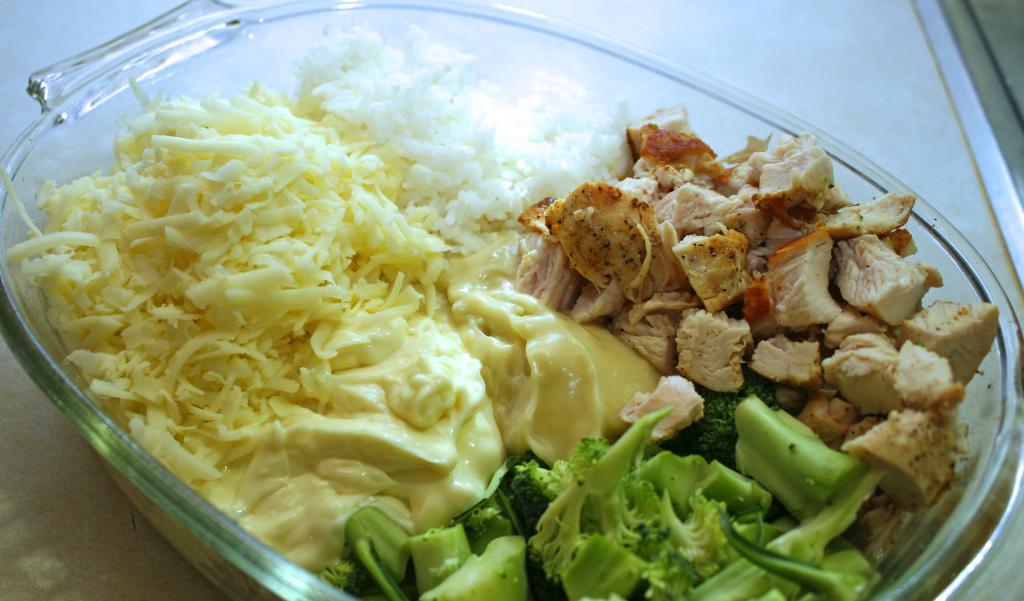 Cheesy Chicken Ingredients