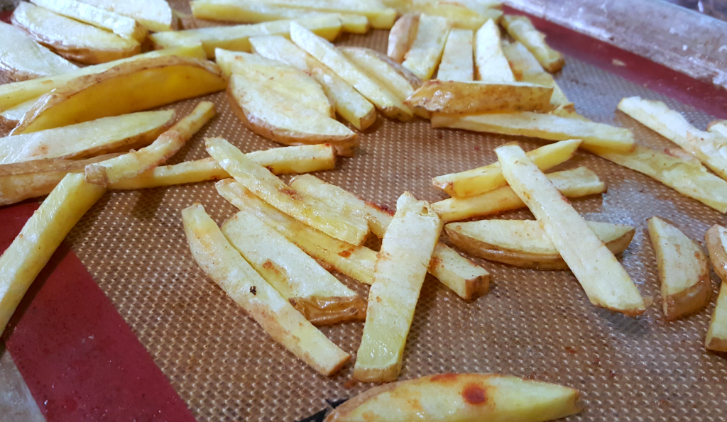 Basic Baked French Fries Recipes — Dishmaps