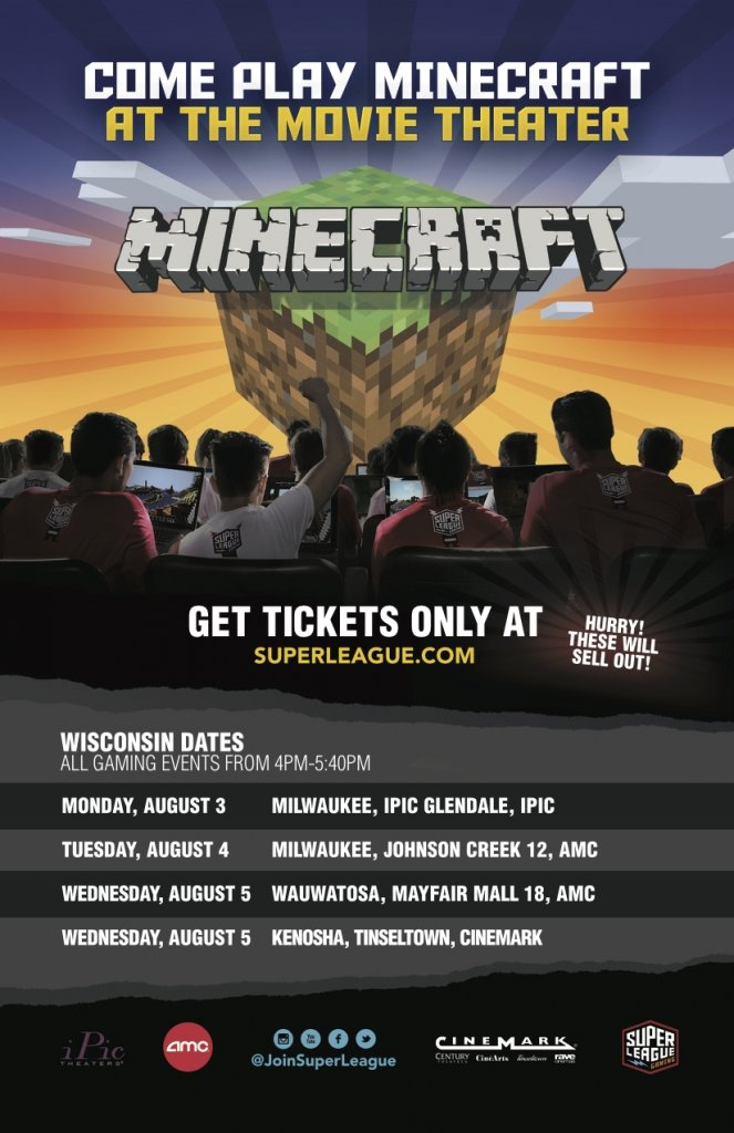 minecraft in theater