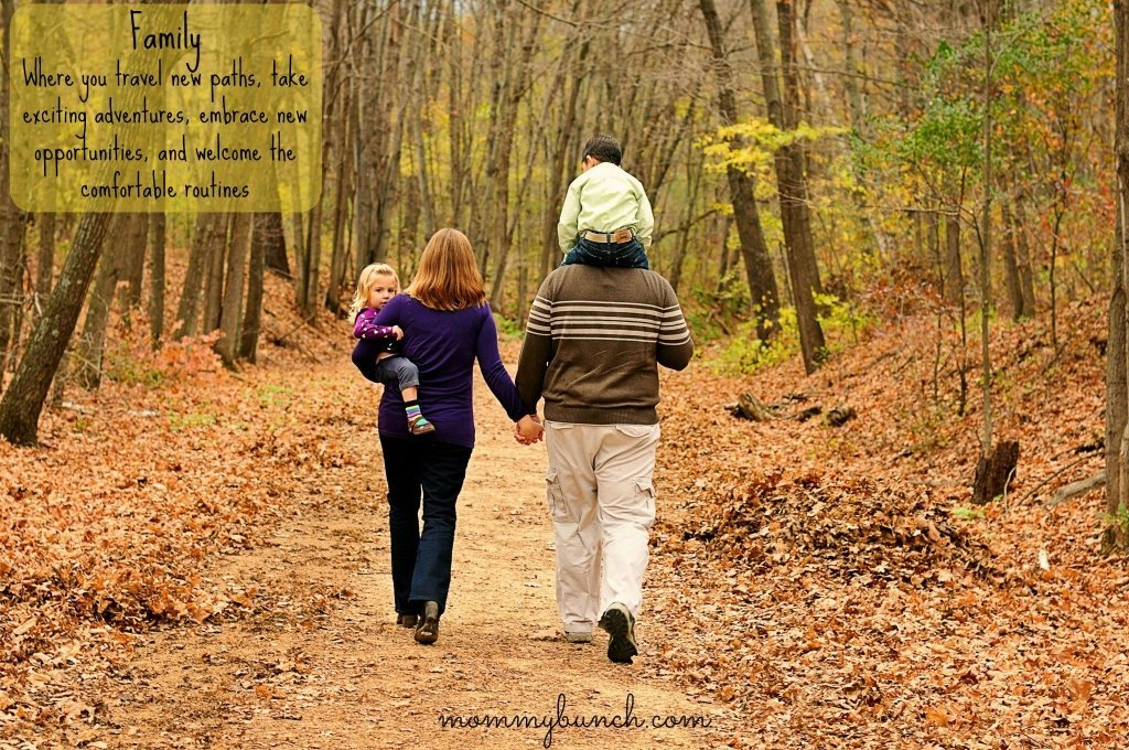 Travel new paths - family