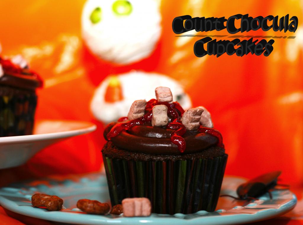 Count Chocula Cupcake